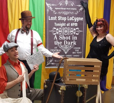 Murder Mystery Speakeasy at Merriam Community Center presented by KC Mystery Players at ,
